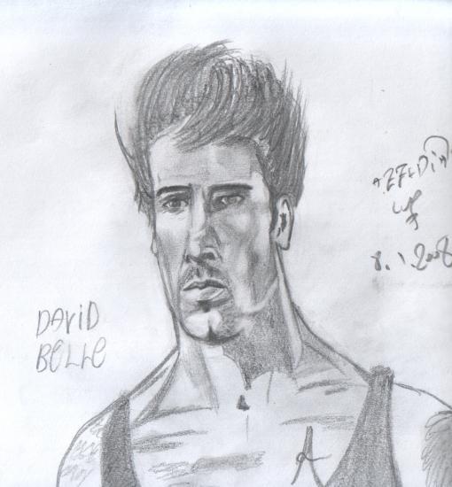 Portrait Of David Belle By Azzedine On Stars Portraits